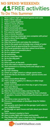 41 Free or Cheap Things To Do On the Weekend Have …