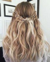 Bestätigung Frisuren schulterlanges Haar #selver #wasserfall Frisur #anle …  … – FRUSUREN DEUTCHDE