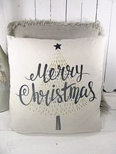 Photo of Weihnachtskissen, Frohe Weihnachten Kissen, Kissen, Hochzeitsgeschenk, Weihnachtsgeschenk, Frohe Weihnachten, RyE
