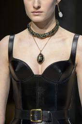 Alexander McQueen at Paris Fashion Week Fall 2018