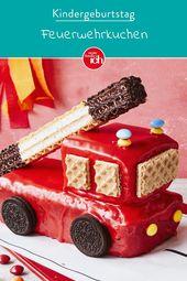 3D Fireman Cake Sam | my family