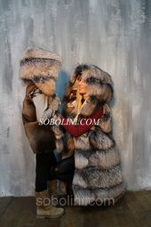 Photo of Stylish vests family look, mom + daughter, golden silver fox
