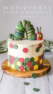 Kuchen Caterpillar Nimmersatt   – AhalniSweetHome Rezepte