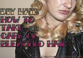 DIY Hair: Wie pflege ich gebleichtes Haar?#colorful #photooftheday #cute #pi…
