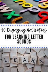 10 Engaging Activities for Learning Letter Sounds