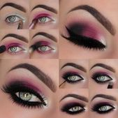 Top conseils pour réussir son maquillage smoky eyes  Make-up rauchige Augen ros…