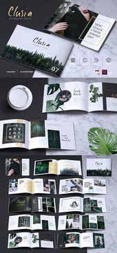 CLUSIA – Lookbook-Broschüren-Katalog