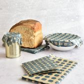 Oilcloths and oilcloth bread bags. Made very easy.