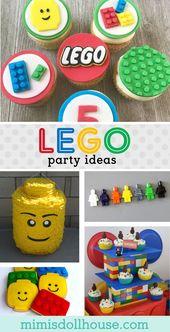 Lego-Ideen für eine Geburtstagsfeier: So bauen Sie eine Lego-Party auf # Build …   – Birthday
