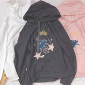 Cotton Hoodie Autumn and Stars Cotton Hoodie Autumn and Stars