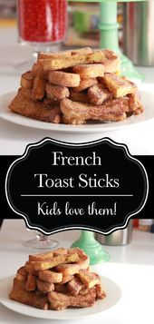 French toast sticks coated in cinnamon sugar are an excellent scrumptious and enjoyable brea…