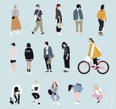 Vector People for Architecture | toffu.co – emily ayotte – Aktuelle Ideen
