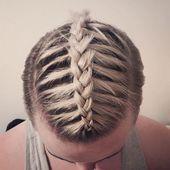 Geflochtene Frisuren für Männer   – Mens Hairstyles