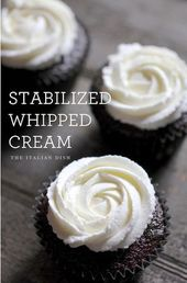 How to make Stabilized Whipped Cream that holds up for days! — TO DECARB: Repl…