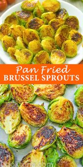 Pan Fried Brussel Sprouts – COOKTORIA'S VIDEO RECIPES