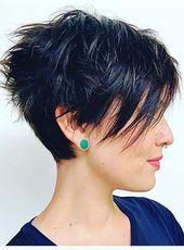8+ penteados mais ousados para 2020   – Pixie Frisuren