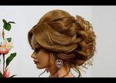 Haircut For Long Hair Female   High Updos For Medium Hair   How To Make An Updo …