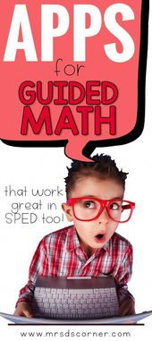 Guided Math Apps for Special Ed