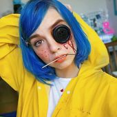 "Creepy Cool Halloween Makeup Inspiration ""Coraline"" #Halloween #HalloweenMakeup …"
