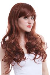 Clearance Women Fashion Cosplay Wig Long Mixed Ombre Wig Wavy Straight Full Hair #Ad , #Sponsored, #Cosplay#Wig#Long