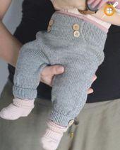 Baby-Jungen-Strick-Hosen-Modelle – Baby-Hosen-Strickmodelle