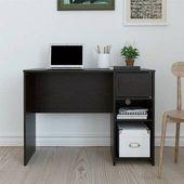 Veazey Schreibtisch mit Bücherregal
