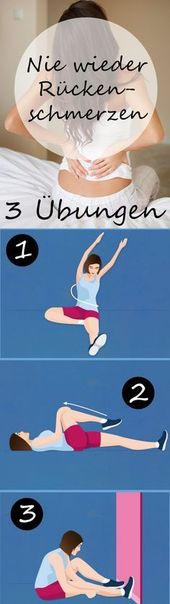 Osteopathie: 3 Übungen für den Rücken   – Gesundheit