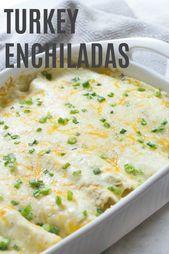Enchiladas de dinde   – Recipes – #dinde #Enchiladas #recipes