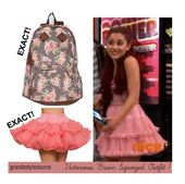Cat Valentine in Victorious ep 'Brain Squeezed' Outfit #1 Top: unknown EXACT…