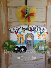 Camper Sign – Camping Door Hanger – Camping Decor – Camper Decor – Campingplatsdekorationer – Glamping – Glamping Sign