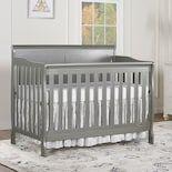 Dream On Me Ashton Full Panel 5 In 1 Convertible Crib Convertible Crib Cribs Platform Mattress