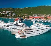 Luxury yacht charters in St Thomas, Caribbean.