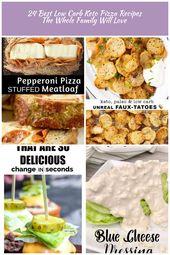 ¡Las 24 mejores recetas de pizza de ceto con bajo contenido de carbohidratos que a toda la familia le encantará! – Keto Whoa bajo …   – kpop-diet