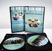 Graduation Ceremony DVD Cover and Label Template ,  #ceremony #Cover #DVD #Graduation #gradua…