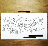 Fcking clean Sketch   – Graffiti Blackbook