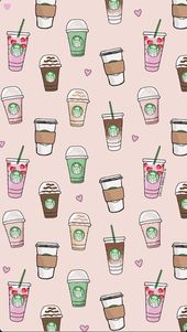 8+ Cute Backgrounds For iPhone Starbucks