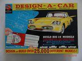 """Details über fabelhafte Vintage Pyro Plastics Design-A-Car großes Modell Kit mit """"Computer"""" – Models"""
