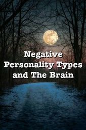 Negative Personality Types and The Brain