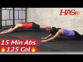 15 Minute Intense Ab Workout for Men & Women – 15 Min Abs – HIIT Abs Abdominal E…