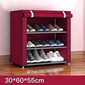 Vliesstoff Aufbewahrung Schuhregal Flur Schrank Organizer Halter 4 5 6 Schichten Zusammenbauen Schuhe Regal Diy In 2020 Shoe Rack Hallway Shoe Rack Diy Home Furniture