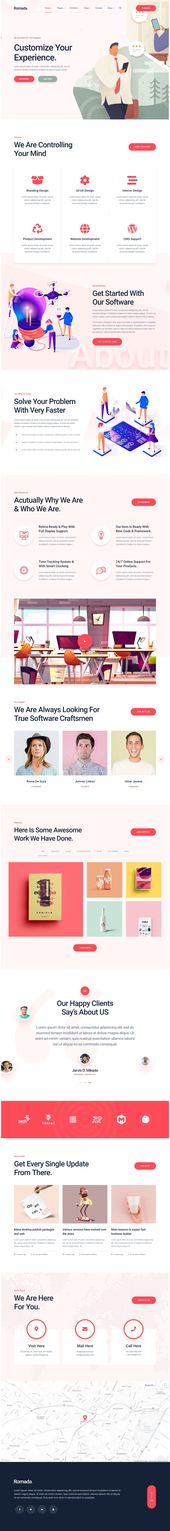 Romada – Startup Agency WordPress Theme