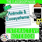 Interactive Notebook Template: Animals & Animal Ecosystems by The Classroom Nook