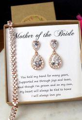 Wedding braceletMother of the Bride Gift von thefabbridal3 auf Etsy #weddinggifts …   – my wedding ideas