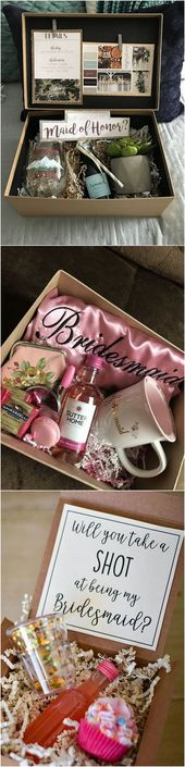 "18 Bridesmaid Proposal Reward Concepts to Ask ""Will You Be My Bridesmaid?"""
