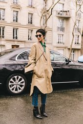The importance of having a coat with a huge dose of charisma