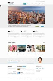 Mentor Responsive Drupal Theme By Experthemes On Deviantart Webdesign Drupal Themes Ideas Of Drupal Themes Drupalthemes Ment Drupal Theme Themes Free
