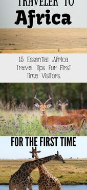 15 Essential Africa travel tips for first time visitors. – The adventurous feet …