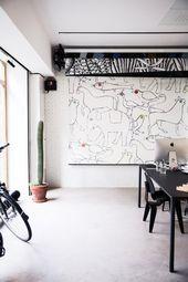 Illustrator Workspace Wallpaper By Bien Fait + Parisian Home Of Cécile Figuette