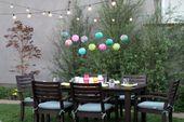 Abendessen im Freien #dinnerparty #fancy #dinner #party