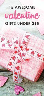 15 Awesome Valentine Gift Ideas Under $15